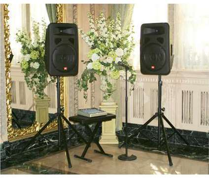 Akron Canton Sound System PA Rental, AV Rental, Stage Lights, Karaoke is a Party Rentals service in Akron OH