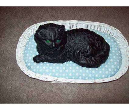 Antique Ironart Cast Iron Black Cat is a Black Antiques for Sale in Wescosville PA