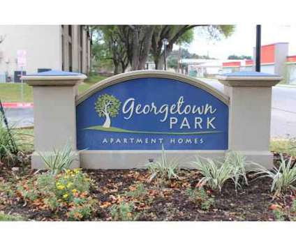 1 Bed - Georgetown Park Apartments at 209 Luther Dr in Georgetown TX is a Apartment