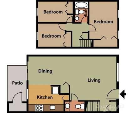 3 Beds - Garrison Forest Apts at 6 Green Mountain Ct in Owings Mills MD is a Apartment