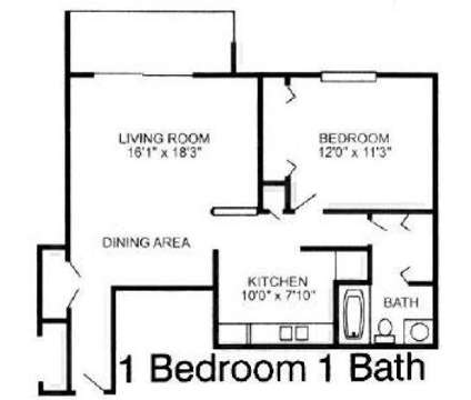 1 Bed - Tanglewood Apartments at 2217 Tanglewood Dr in Hammond IN is a Apartment