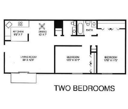 2 Beds - Courts of Williamsburg at 2521 Old Tavern Rd in Lisle IL is a Apartment