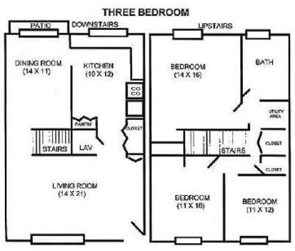3 Beds - Cambridge Court Townhomes at 1580 Prospect St G-9 in Elyria OH is a Apartment