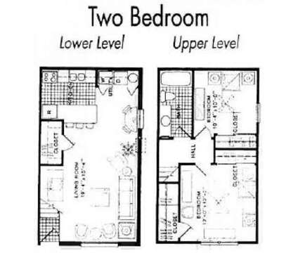 2 Beds - Hilliard Square Townhomes at 4674 Leap Ct in Hilliard OH is a Apartment