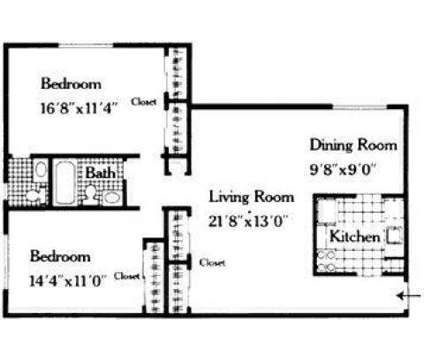 2 Beds - Sutton Hill Apartments at 2 Underhill Rd in Middletown NY is a Apartment
