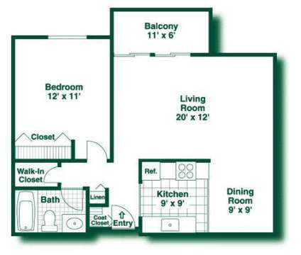 1 Bed - Garden View at 1417-10th St Nw in New Brighton MN is a Apartment