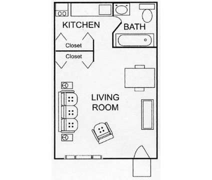 Studio - Villas at Bridgepoint at 1500 Monument Rd in Jacksonville FL is a Apartment