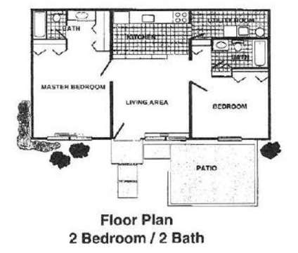 2 Beds - Villas at Bridgepoint at 1500 Monument Rd in Jacksonville FL is a Apartment