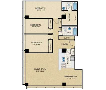 3 Beds - Colonnade Apartments at 25 Clifton Avenue in Newark NJ is a Apartment