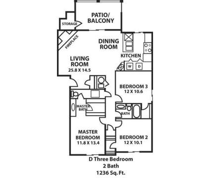 3 Beds - Aspen Lodge at Overland Park at 8100 Perry St in Overland Park KS is a Apartment