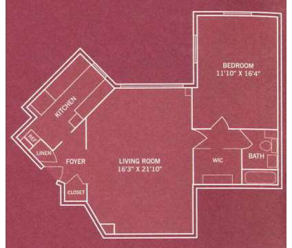 1 Bed - Park La Brea at 6200 West 3rd St in Los Angeles CA is a Apartment
