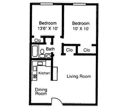 2 Beds - Continental Square Apartments at 1508 Continental Square Drive in Lexington KY is a Apartment