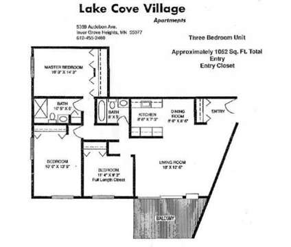 3 Beds - Lake Cove Village at 5359 Audobon Avenue in Inver Grove Heights MN is a Apartment