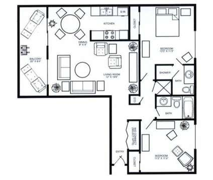 2 Beds - AppleTree at 6224 South 97th Ct in Omaha NE is a Apartment