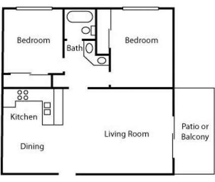 2 Beds - Cross Roads Apartments at 222 North Muller St in Anaheim CA is a Apartment