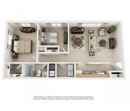2 Beds - North Pointe Commons Apartment Homes at 100 Park Plaza Dr in Pittsburgh PA is a Apartment