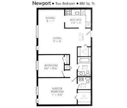 2 Beds - Chateau Perry Apartments at 951 Perry Hwy in Pittsburgh PA is a Apartment