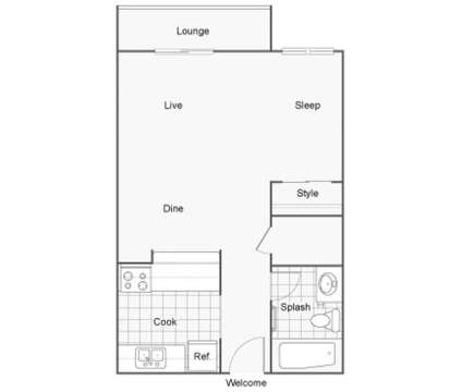 Studio - The BLVD at 2136 South 272nd St in Kent WA is a Apartment