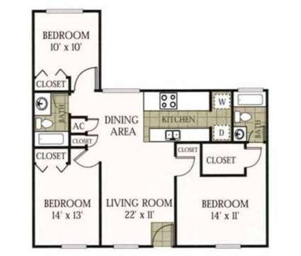 3 Beds - Melrose On The Bay at 16321 Bolesta Rd in Clearwater FL is a Apartment