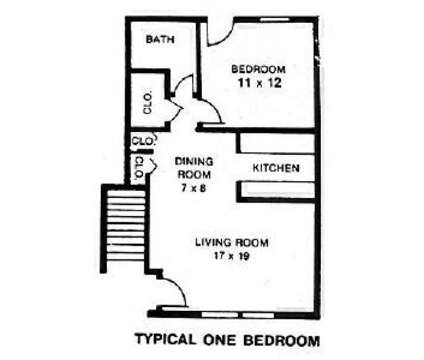 1 Bed Winthrop Terrace Apartments Of Bowling Green 400 East Napoleon Rd Bowling Green Oh