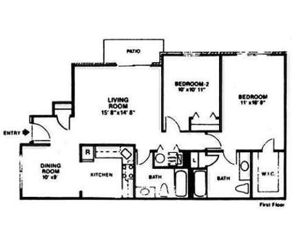2 Beds - Peachtree Village at 401 Peachtree Rd Rental Office in Hackettstown NJ is a Apartment