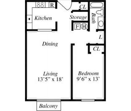 1 Bed - Academy Heights Apts at 5555 Wyoming Boulevard Ne in Albuquerque NM is a Apartment