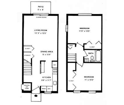 2 Beds - Homes of Towne Plaza at 311 Trimble Rd in Joppa MD is a Apartment