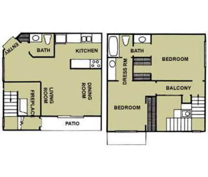 2 Beds - Valley Creek Apartments at 2822 Guthrie Road in Garland TX is a Apartment