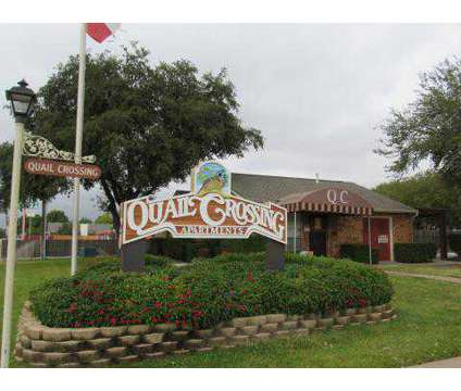 1 Bed - Quail Crossing Apartments at 720 E Warrior Trail in Grand Prairie TX is a Apartment