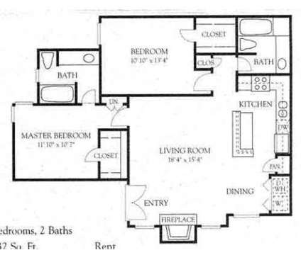 2 Beds - Crossings on Marsh at 18788 Marsh Ln in Dallas TX is a Apartment