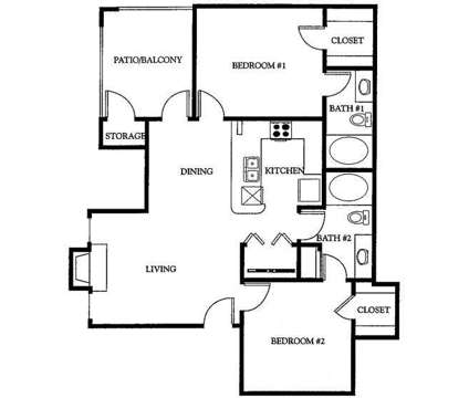 2 Beds - Stoneleigh at Mesquite at 3700 Poteet Drive in Mesquite TX is a Apartment