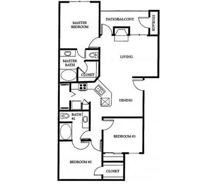 3 Beds - Stoneleigh at Mesquite at 3700 Poteet Drive in Mesquite TX is a Apartment