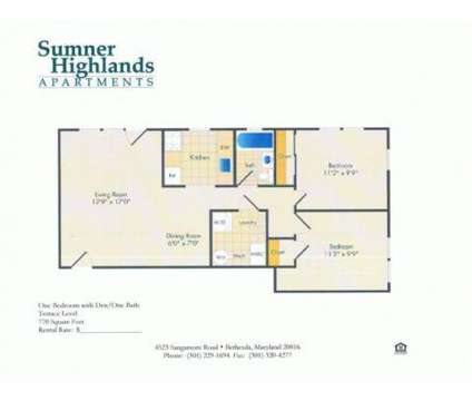 2 Beds - Sumner Highlands at 4523 Sangamore Road in Bethesda MD is a Apartment