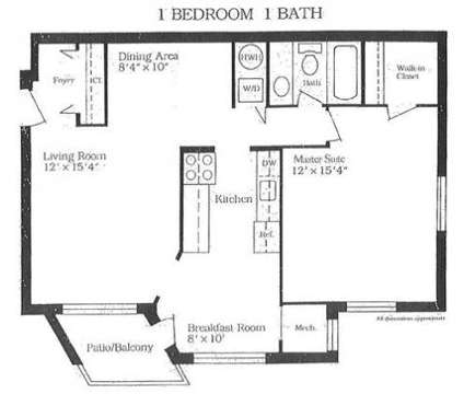 1 Bed - Dickey Hill Forest Apts at 2223 Wheatley Dr in Gwynn Oak MD is a Apartment