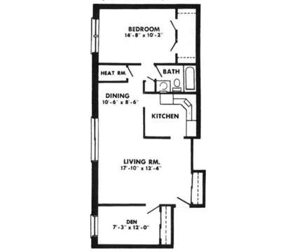 1 Bed - Oakleigh Apts at 1803 Cobourg Court in Parkville MD is a Apartment