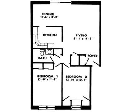 2 Beds - Perry Hall Apartments at 3831 E Joppa Road in Nottingham MD is a Apartment