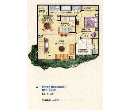 3 Beds - Lake Tivoli at 851 Lake Tivoli Boulevard in Kissimmee FL is a Apartment
