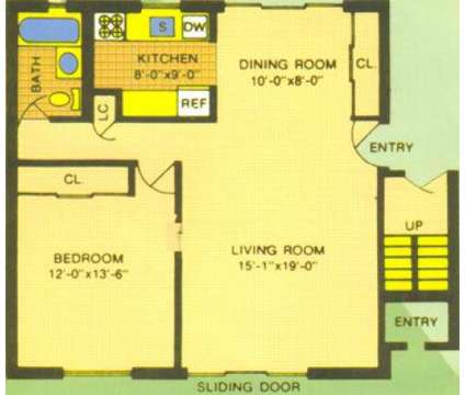 1 Bed - Claridge Court Garden Apartments at 1 Pinetree Boulevard in Old Bridge NJ is a Apartment