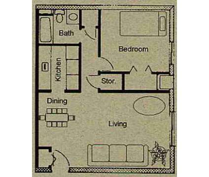 1 Bed - The Village on South Carpenter at 1474 S Carpenter Road in Brunswick OH is a Apartment