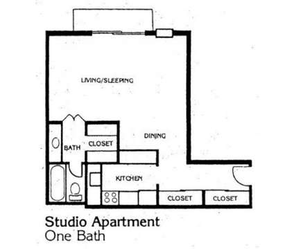 Studio - Mont Michel Apts at 688 Riddle Road in Cincinnati OH is a Apartment