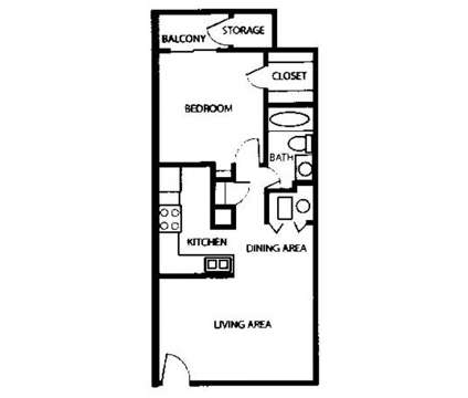 1 Bed - Alta Vista Apts at 4200 Spanish Bit Ne in Albuquerque NM is a Apartment