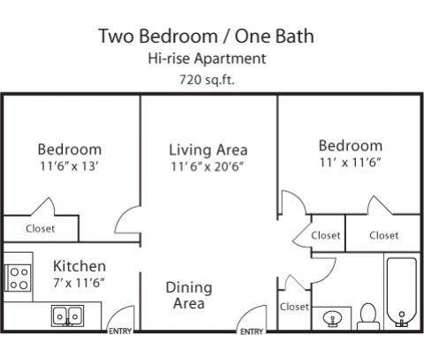 2 Beds - The Edison at 567 Jefferson Avenue in Memphis TN is a Apartment