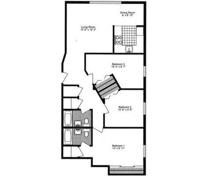 3 Beds - Lakeshore Dunes at 440 N Lake St in Gary IN is a Apartment