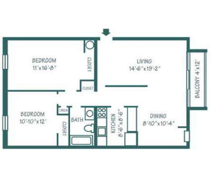 2 Beds - Oakmont Landing at 101 Washington Ave in Pittsburgh PA is a Apartment