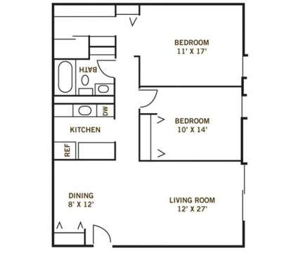 2 Beds - Whispering Timbers Apts at 6325 Garden Road in Maumee OH is a Apartment