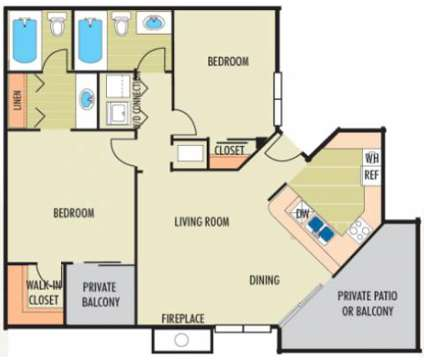 2 Beds - The Belmont at 3580 Mcgehee Place Drive S in Montgomery AL is a Apartment