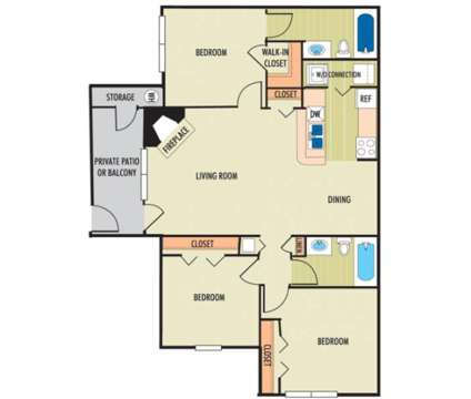 3 Beds - The Belmont at 3580 Mcgehee Place Drive S in Montgomery AL is a Apartment
