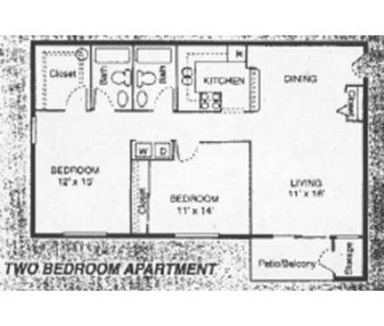 2 Beds - Shagbark Apartments at 4042 Washington Road in Kenosha WI is a Apartment