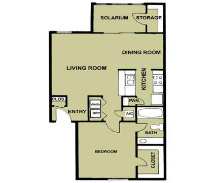 1 Bed - Solarium Apartments at 4900 Joe Ramsey Boulevard E in Greenville TX is a Apartment