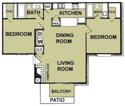 2 Beds - South Meadows Apartments at 110 Sierra Grande St in Red Oak TX is a Apartment